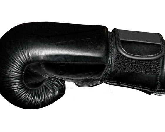 Elite Leather Boxing Glove, 12 Oz - Click for larger picture