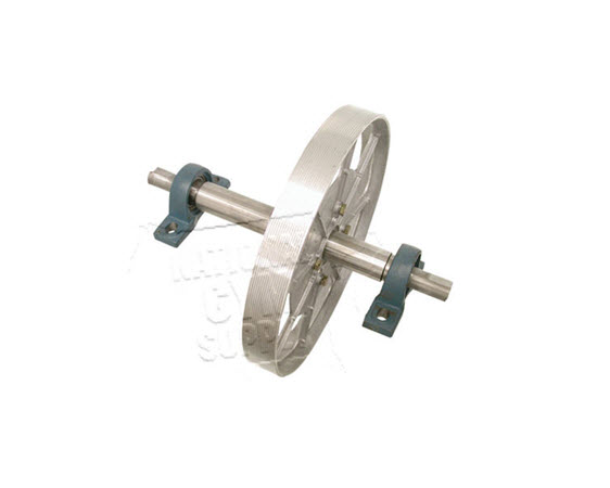 Pulley Crank Shaft Assy W/ Pillow Blocks - Click for larger picture