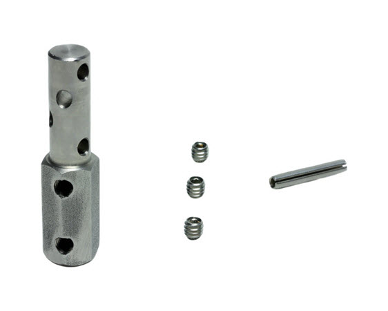 Cable End W/ Set Screws & Roll Pin Cybex - Click for larger picture