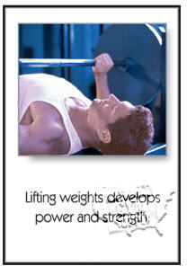 "Poster ""Power And Strength"" - Click for larger picture"