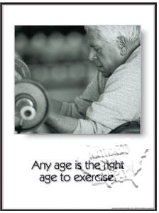 "Poster "" Any Age"" L - Click for larger picture"