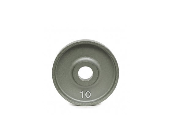 IOM10-Olympic Plate,Hammertone,10 lbs