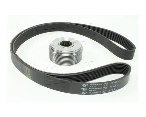 Clutch/Pulley & Drive Belt Kit - Click for larger picture