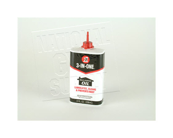 3-In-1 Oil Squirt Spout  8 Oz. - Click for larger picture