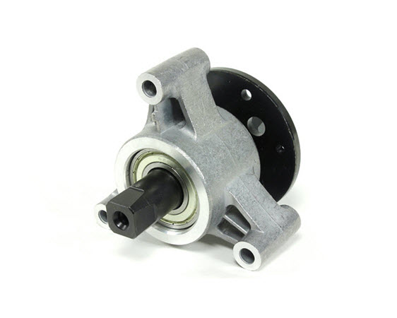 Crank Hub And Bearings - Click for larger picture