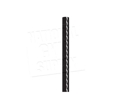 "Cable 3/16"" Black Coated To 1/4""(Per Ft) - Click for larger picture"