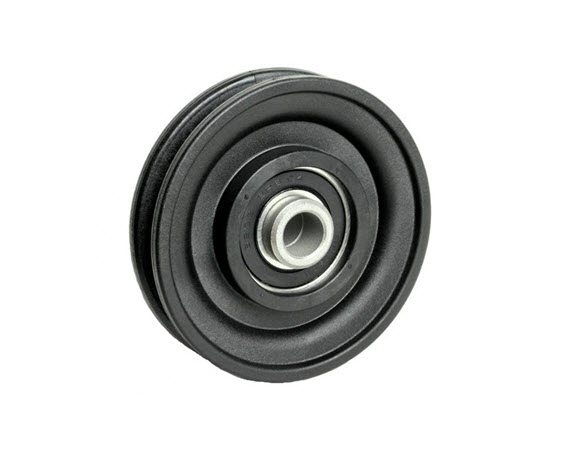"Pulley, 3-1/2"" Dia. (1/2"" Bore) 1"" Thick - Click for larger picture"
