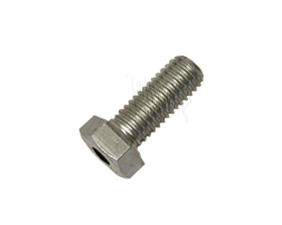 "Thru Hole Bolt, Hex, 3/8 - 16t X 1"" - Click for larger picture"