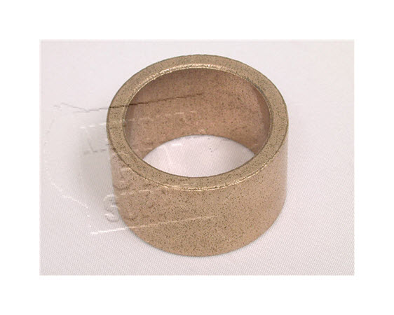 "Bushing,Oilite Brass,1"" Idx 3/4"" Long - Click for larger picture"