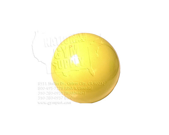 Exercise Ball, 45cm Yellow - Click for larger picture