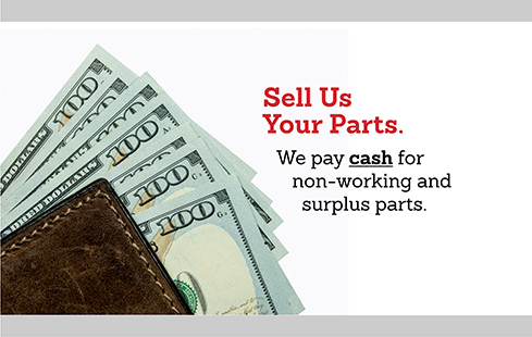 Sell Us Your Parts