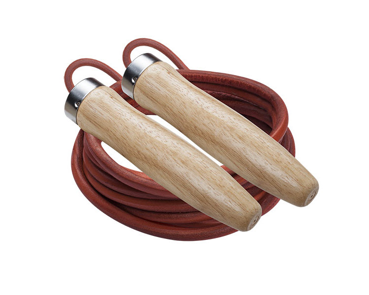 Speed Rope, Leather, 9.5', Dplt - Click for larger picture