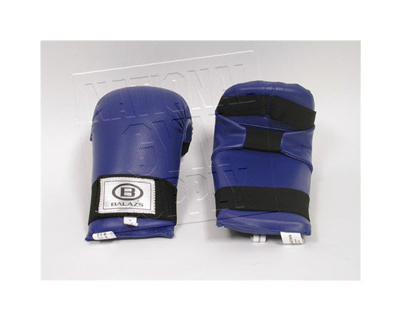 Gloves, Open Hand Punch, (Blue) - Click for larger picture