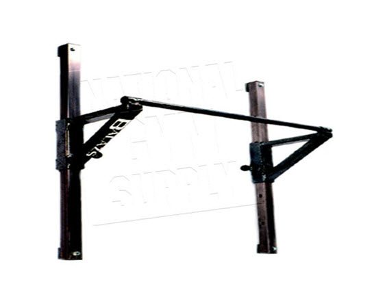 Pull Up Bar, Height Adjustable - Click for larger picture