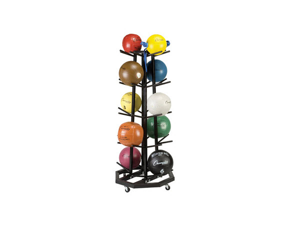 Medicine Ball Tree Rack - Click for larger picture