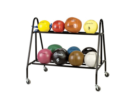 Medicine Ball Storage Carrier - Click for larger picture