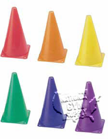"Cone Set, 9"", (6-Set) - Click for larger picture"