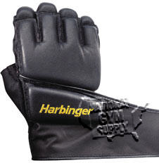 Bag Gloves, W/ Wristwrap, Large - Click for larger picture