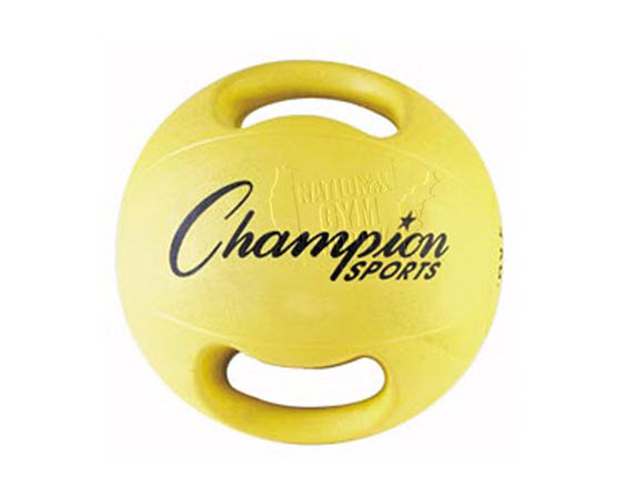 Heavy Ball W/ Double Grip, 4 Kg,  - Click for larger picture