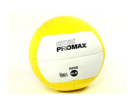 Soft Medicine Ball, 8 Lbs (Yellow) - Click for larger picture