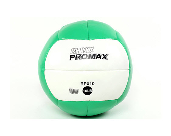 Soft Medicine Ball, 10 Lbs (Green) - Click for larger picture