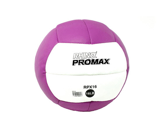 Soft Medicine Ball, 16 Lbs (Purple) - Click for larger picture