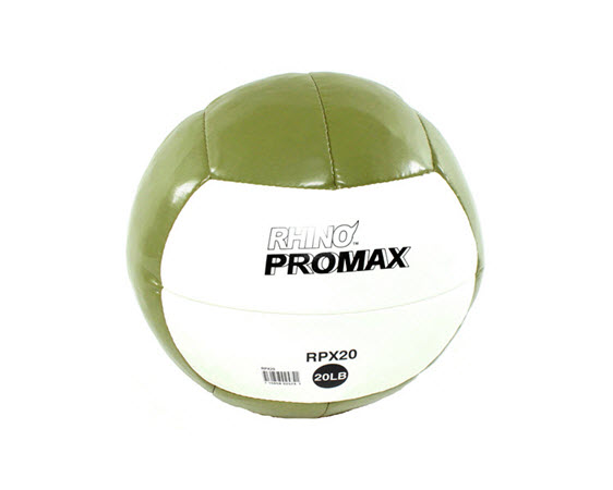 Soft Medicine Ball, 20 Lbs (Brown) - Click for larger picture