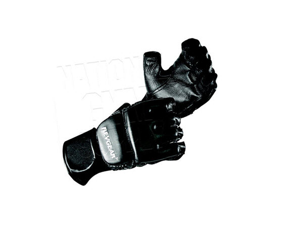 Leather Grappling Gloves (Extra Large) - Click for larger picture