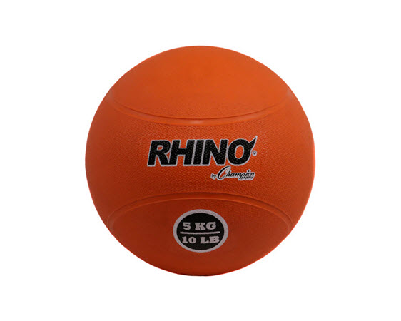 Medicine Ball, Rhino, 5 Kg/11 Lbs - Click for larger picture