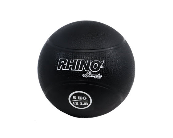Medicine Ball, Rhino, 6 Kg/13.2 Lbs - Click for larger picture