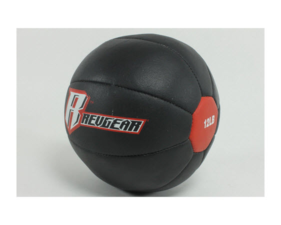 Genuine Leather Medicine Ball 012 Lbs - Click for larger picture