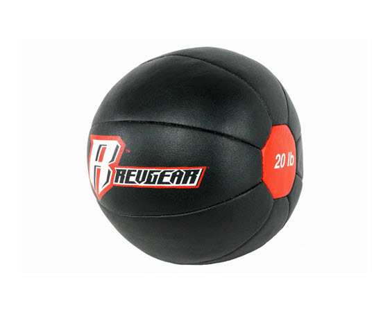 Genuine Leather Medicine Ball 020 Lbs - Click for larger picture