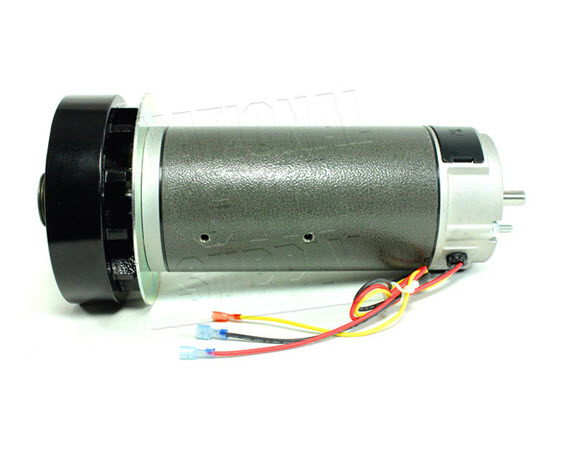 Drive Motor, Mcmillan, 3hp/110 Vdc - Click for larger picture