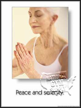 GP145-Yoga Peace/Serenity (paper)