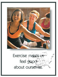 "GP315-Poster ""feel good"" 24"" x 18"""