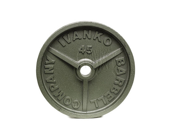 Olympic Plate,Hammertone,45 Lbs - Click for larger picture