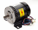 LST1128-Motor, AC 4HP, Tapered Shaft