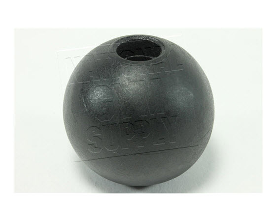 "Stopper Ball,  1-1/4"" Dia With 1/4"" Bore - Click for larger picture"