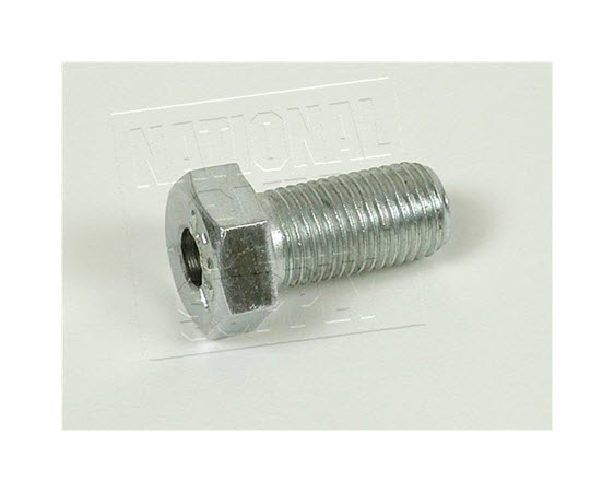 """Thru Hole Bolt, Hex, 3/8- 24t X 3/4"""" - Click for larger picture"""