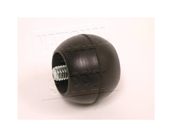 Discontinued, Rubber Screw-In End Cap - Click for larger picture