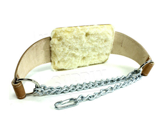 Padded Dip Belt, High Quality Leather - Click for larger picture