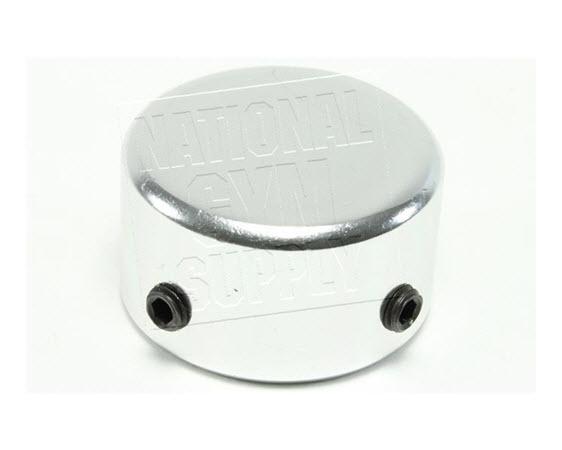 "Aluminum End Cap, 1"" Id  W/2 Set Screws  - Click for larger picture"