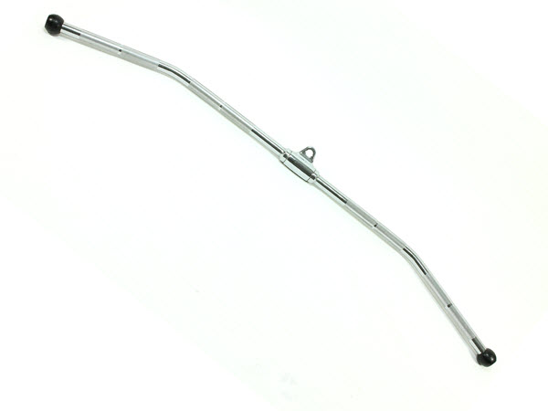 """Bent Lat Pulldown Bar, 48"""", Ivanko - Click for larger picture"""