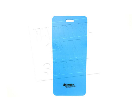 Fitness Mat W/ Slotted Handle, Blue - Click for larger picture