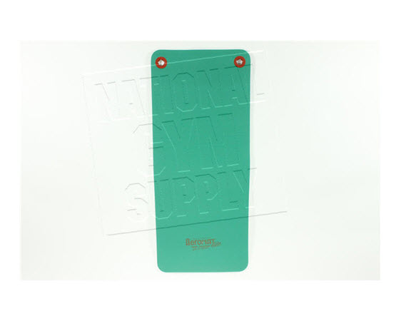 """Fitness Mat W/ Eyelets, 48"""", Green (1/2) - Click for larger picture"""