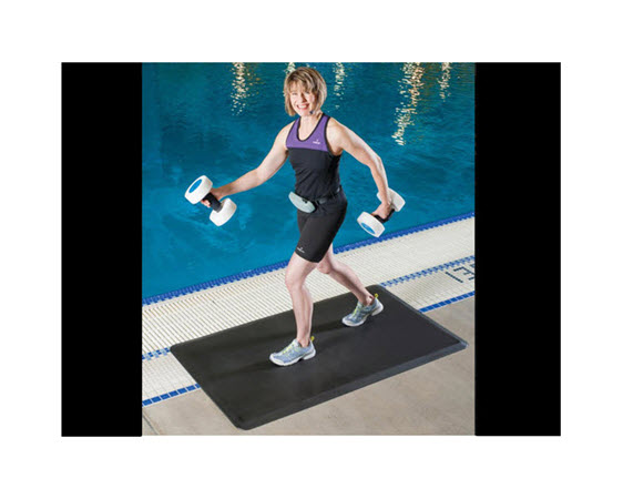 """Poolside Deck Mat 3' 5'x3/4"""", Bevelled - Click for larger picture"""