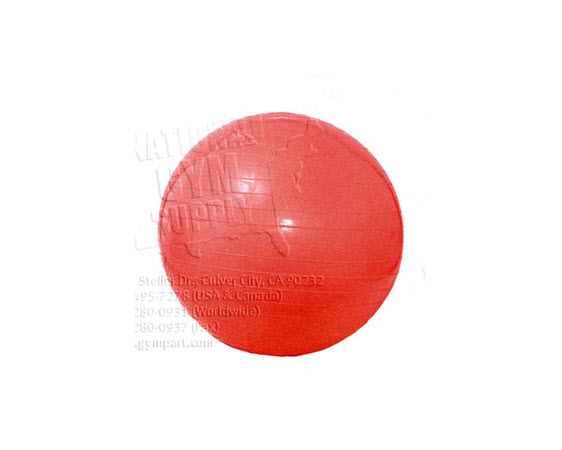 Exercise Ball 55cm Red - Click for larger picture