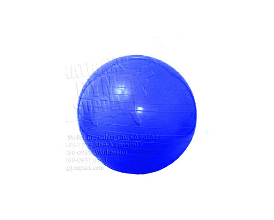 Exercise Ball 75cm Blue - Click for larger picture