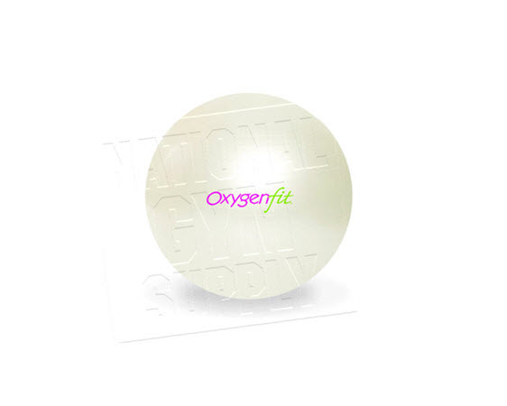 Oxygenfit Body Ball, 65cm, Pearl - Click for larger picture