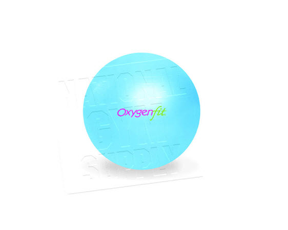 Oxygenfit Body Ball, 65cm, Sky - Click for larger picture